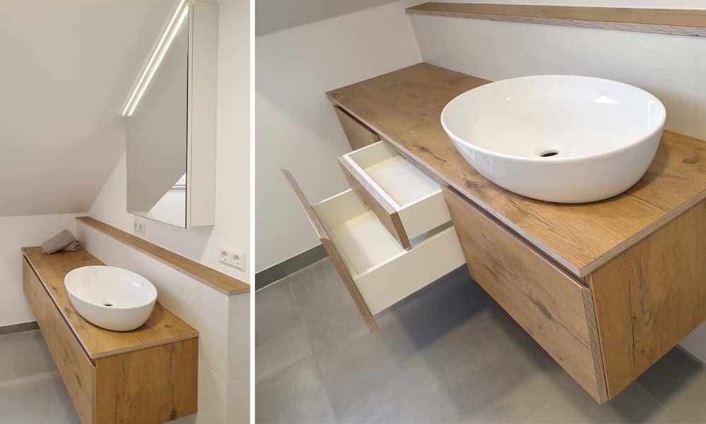 Waschtischunterschrank mit Innenschublade